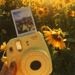 Authentic INSTAX Mini 8 Camera – Pastel Yellow